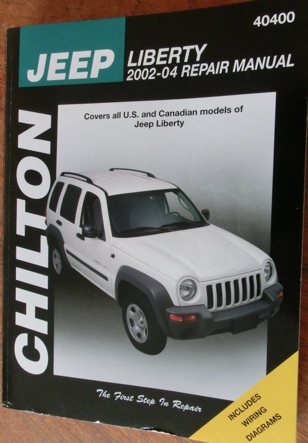 Jeep Cherokee 2002 Manual